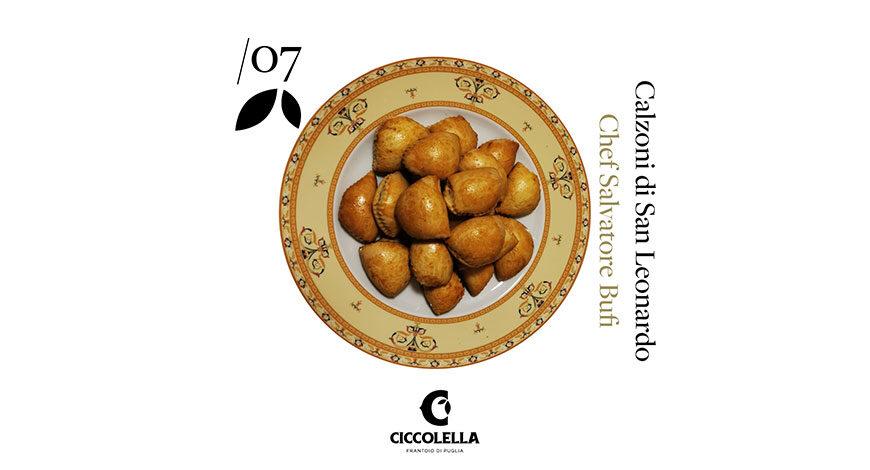 Calzoni di San Leonardo - Chef Salvatore Bufi